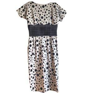 Bettie Page pinup dress rockabilly polka dot spots